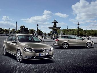 Новый Volkswagen Passat можно будет открывать ногой
