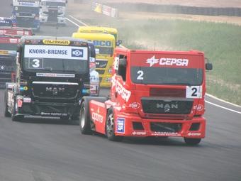 В России впервые прошел этап Чемпионата Европы по гонкам грузовиков