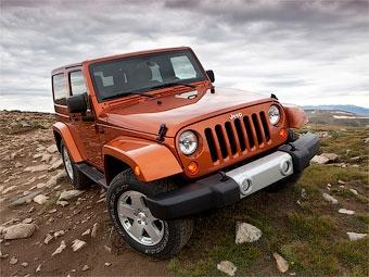 Jeep Wrangler обновился и получил современный интерьер
