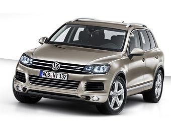Компания VW представила новый внедорожник Touareg
