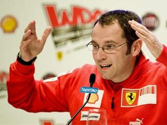 Команда Ferrari отказалась от системы KERS