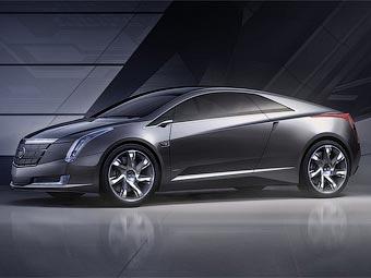 Компания Cadillac представила в Детройте электрокупе Converj