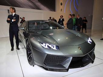 Концепт Lamborghini оказался четырехдверным седаном