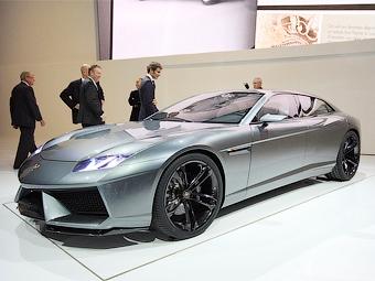 Серийный седан Lamborghini может появиться в 2011 году