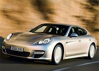 Спортивный седан Porsche Panamera полностью рассекречен