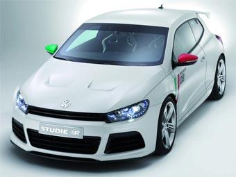 """Концерн VW показал прототип """"заряженного"""" Scirocco"""