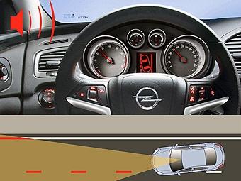 Opel Insignia будет предупреждать водителя о дорожных знаках