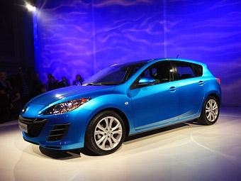 """Mazda3 получит систему слежения за """"мертвыми зонами"""""""