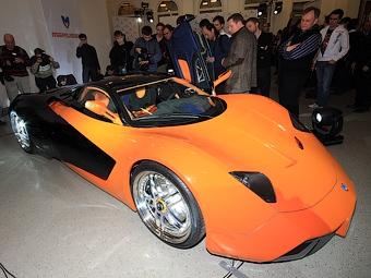 Первый российский суперкар будет называться Marussia