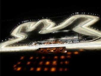 В феврале пройдет первая ночная гонка серии GP2