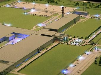 Под Калугой началось строительство заводов по выпуску автокомпонентов
