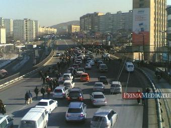 Во Владивостоке за выходные задержали более 60 участников акций протеста