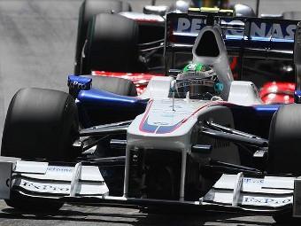 Команда BMW отказалась от использования KERS на Гран-при Турции