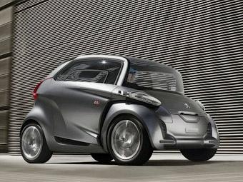 Компания Peugeot представила сверхкомпактный электрокар