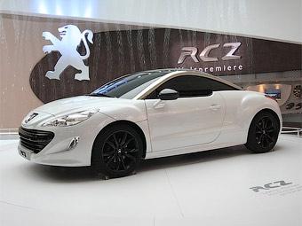 Компания Peugeot представила спецверсию спортивного купе RCZ