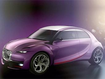 Citroen показал созданный в стиле модели 2CV гибридный концепт-кар