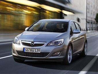Компания Opel рассекретила хэтчбек Astra нового поколения
