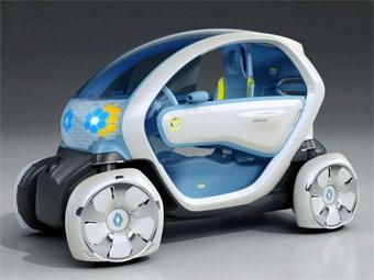 Во Франкфурте представили прототипы четырех серийных электрокаров Renault