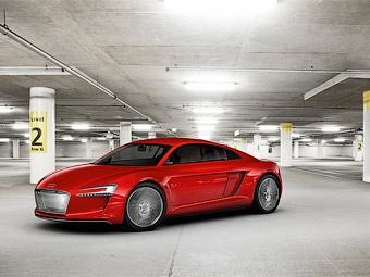 Компания Audi рассекретила электрический суперкар