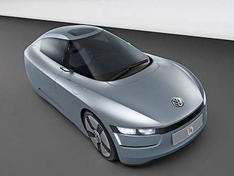 VW привез во Франкфурт автомобиль с расходом 1,5 литра