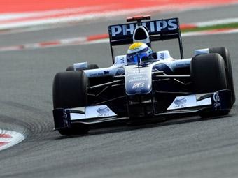 Пилоты Williams закончили свободную практику Гран-при Испании лидерами