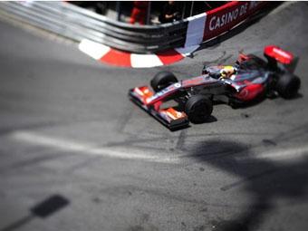 Хэмилтон оказался последним в стартовой решетке Гран-при Монако