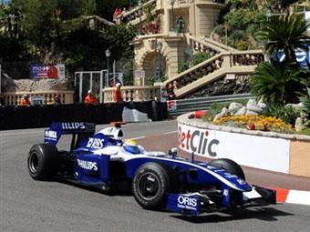 Нико Росберг закончил вторую практику в Монако лидером