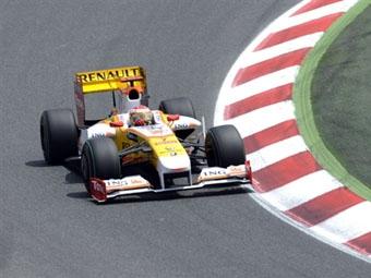 Команда Renault не будет использовать KERS в Монако