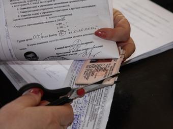 В Москве не хватает водительских удостоверений