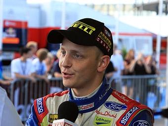 Микко Хирвонен впервые в карьере выиграл Ралли Финляндии