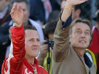 Президент Ferrari подтвердил переговоры Шумахера с Mercedes