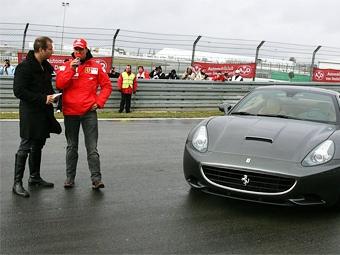Шумахер займется разработкой дорожных автомобилей Ferrari