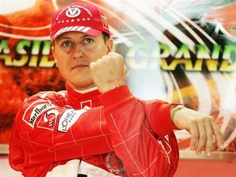 Шумахер сбросил три килограмма в ходе подготовки к гонкам