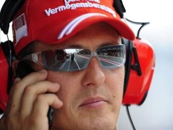 Михаэль Шумахер начал подготовку к гонкам за рулем болида Ferrari