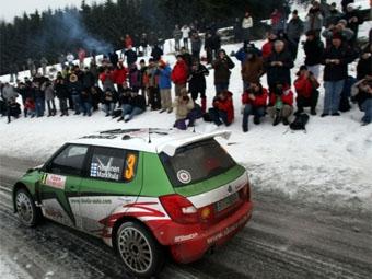 Юхо Ханнинен потерял лидерство в ралли Монте-Карло
