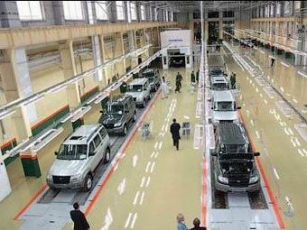 """""""УАЗ"""" остановит выпуск автомобилей до 9 февраля"""