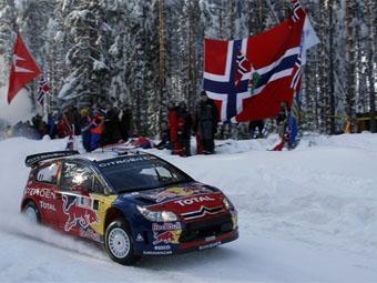 Себастьен Леб выиграл второй этап WRC 2009 года