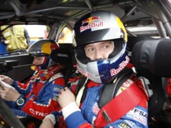 Евгений Новиков протестировал Citroen C4 WRC в Норвегии