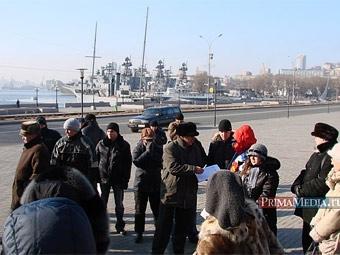 Собрание автомобилистов во Владивостоке прошло без вмешательства милиции