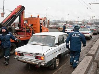 В Москве прошла акция в поддержку отечественного автопрома