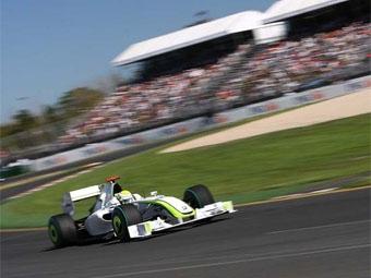 Пилоты команды Brawn заняли первую линию стартового поля Гран-при Австралии