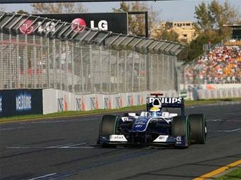 Нико Росберг выиграл свободную практику перед Гран-при Австралии