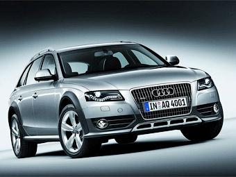 """Компания Audi представила """"внедорожную"""" версию универсала A4"""