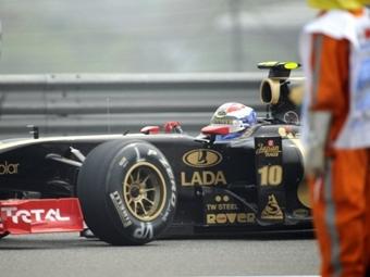 У Петрова сломался болид в квалификации Гран-при Китая