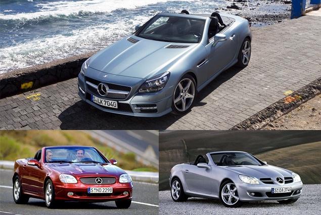 Первый тест-драйв купе-кабриолета Mercedes-Benz SLK