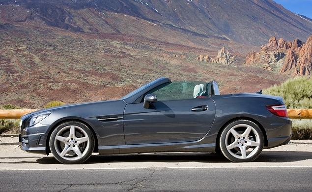 Первый тест-драйв купе-кабриолета Mercedes-Benz SLK. Фото 3