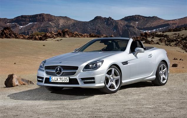 Первый тест-драйв купе-кабриолета Mercedes-Benz SLK. Фото 9