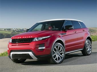 Объявлены рублевые цены на кроссовер Range Rover Evoque