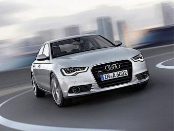 Объявлены российские цены на новый седан Audi A6
