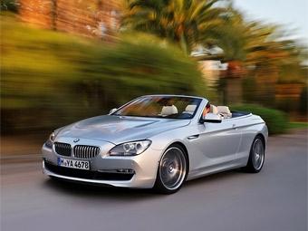 """Кабриолет BMW 6-Series представили раньше версии с кузовом """"купе"""""""